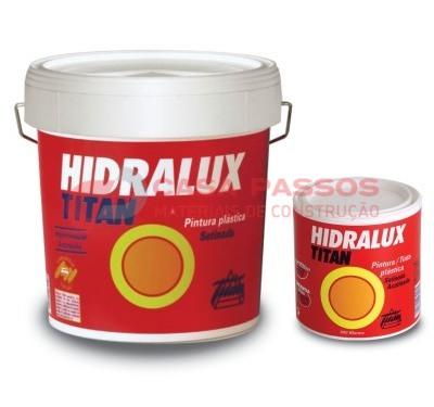 Tinta Plastica Hidralux Acetinada TITAN