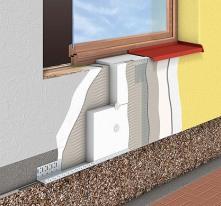 Isolamento Térmico p/Exterior (ETICS)