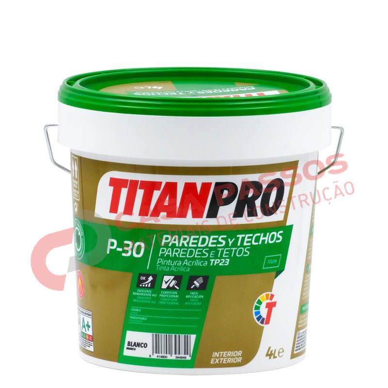 Tinta Plastica P-30 Mate TITAN PRO