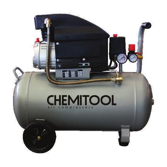 Compressor 25 litros 2CV Chemitool