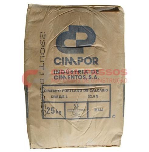 Cimento Cimpor Tipo II/B-L 32.5N 25 Kg