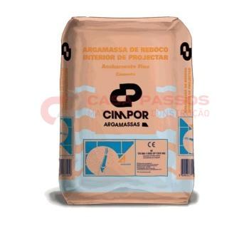 Reboco Ciarga Int. Acab. Fino Cinza 25 Kg