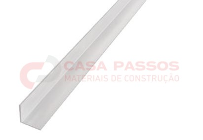 Cantoneira Plastica 25x25mm 2,00 mt