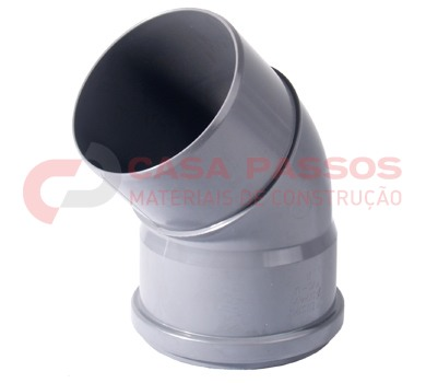 Curva PVC Din 45º